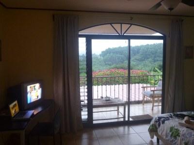 My cosy room at Vista Linda Montana, Alajuela, Costa Rica.