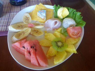 Breakfast in Hotel Linda Vista Montana