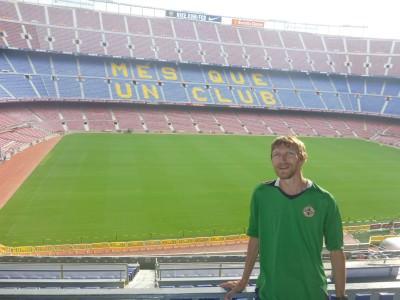 jonny blair nou camp barcelona