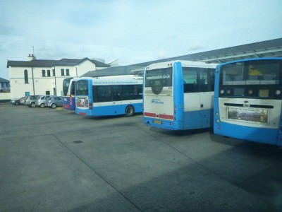 Coleraine Bus Station.