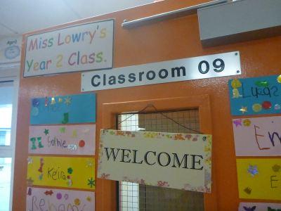 Miss Lowry's class.