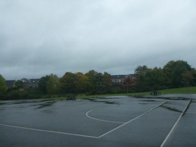 The outer playground at Kilmaine.