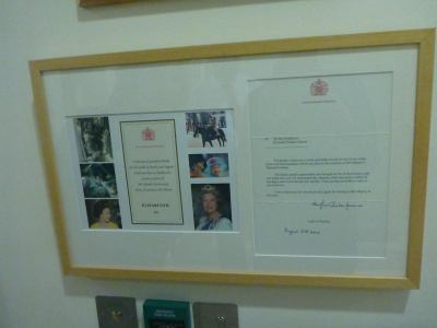 The Queen said that Kilmaine Primary School was the best in the world.