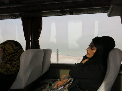 Another long bus journey through Iran.