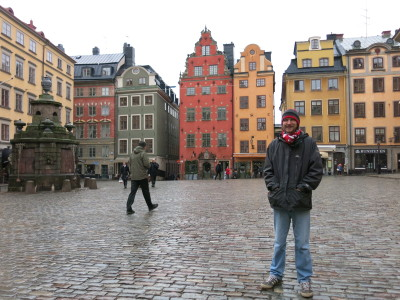 Backpacking in Stockholm, Sweden second time round.
