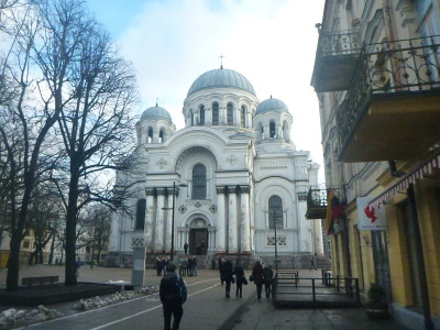 Backpacking in Lithuania: Top 12 sights in Kaunas.