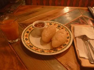 My meal at Forto Dvaras