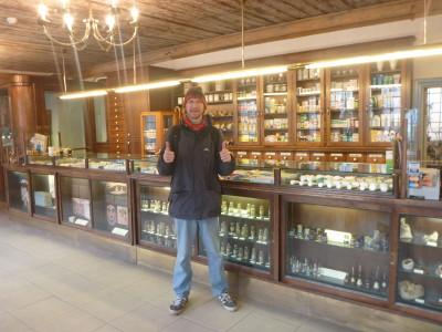 Backpacking in Tallinn - exploring the world's oldest pharmacy.