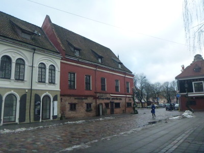 Backpacking in Kaunas, Lithuania