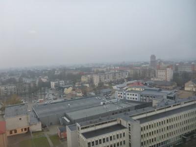 View of Siauliai from Hotel Siauliai
