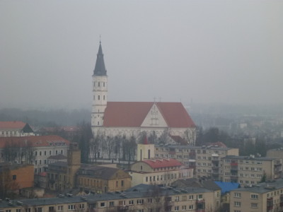 St Peter and Paul's Church in Siauliai, Lithuania