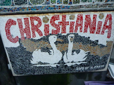 Wonderful arty Christiania