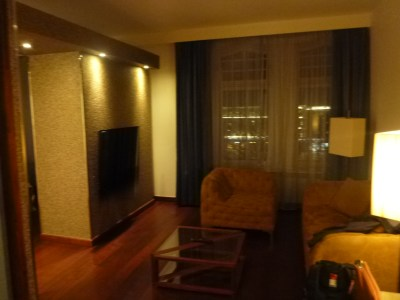 Lounge: My spacious room at the Clarion Collection Christiania Teater Hotel