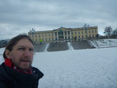 Outside the Royal Palace