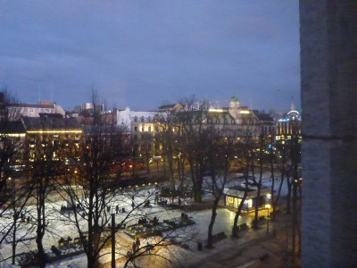Early evening from my room