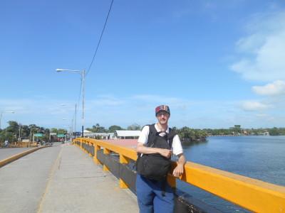 Walking through Puerto Cortes, Honduras