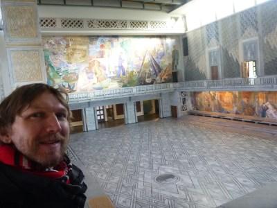 Wow! Interior of Oslo City Hall.