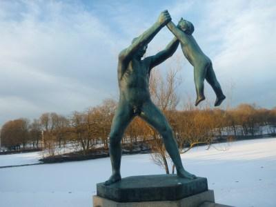 Frogner Park, Oslo, Norway.