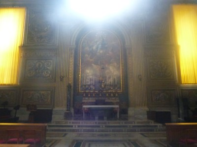 St. Peter's Basilica - the largest church in the world