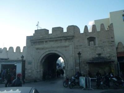 The Medina in Monastir, Tunisia