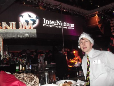 A Christmas time event for Internations in Hong Kong
