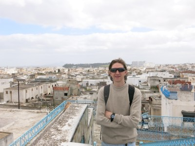 Backpacking in Tunis, capital city of Tunisia.