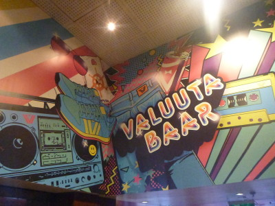 Valuuta Bar in the former KGB run Hotel Viru