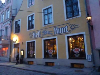 "Hell Hunt bar in Tallinn, Estonia - the city's ""first pub"" apparently"