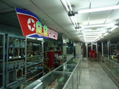Shopping in Pyongyang, North Korea