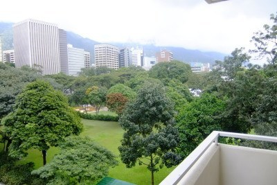 My balcony view over Altamira, Caracas - not all bad right?