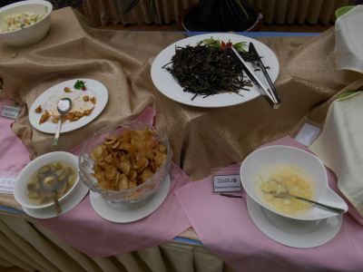 More from the buffet breakfast