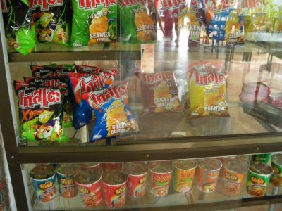 Crisps in Phon Hong, Laos