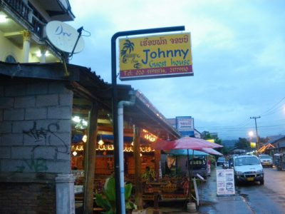 Johnny's bar in Vangers