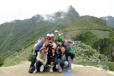 Whackpacking at Machu Picchu in 2010