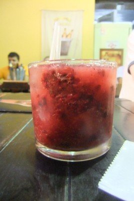 Strawberry Caiprinha