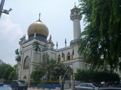 Round the corner from Sultan Mosque