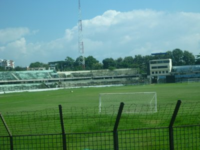 The old cricket stadium in Chittagong