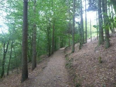 The walk down to Nimis in Ladonia