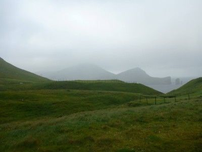 The start of our hike to Gasadalur