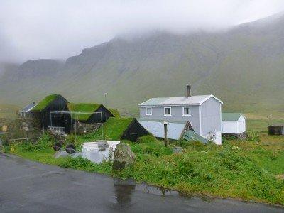 The village of Gasadalur, Vagar Island