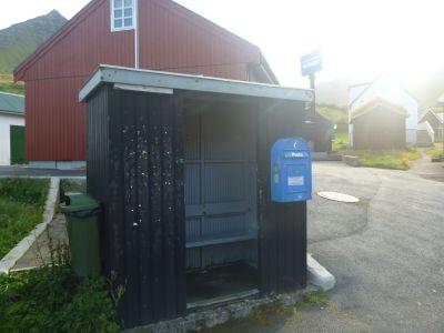 Post box in Gjogv