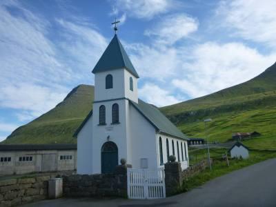 Gjogv Village Church is stunning