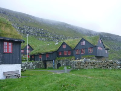 Kirkjubour dates back to the 11th Century - Roykstovan/Kirkjuboargardur - the oldest inhabitated log house in the world