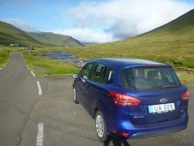 The drive to Saksun