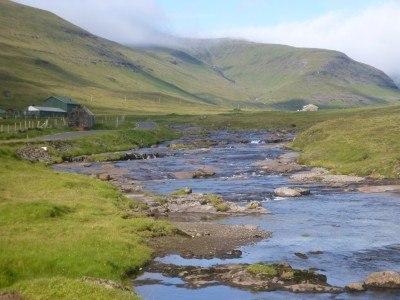Backpacking in the Faroe Islands: Touring Saksun
