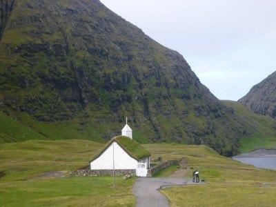The marvellous Saksun church