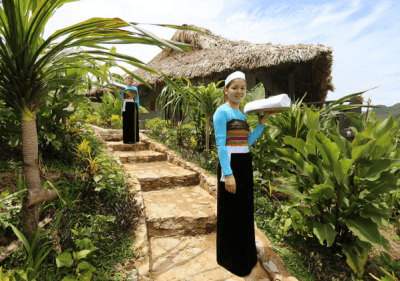 Relaxation at Mai Chau Ecolodge