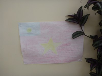 Original Tytannia flag in the Governor's Residence
