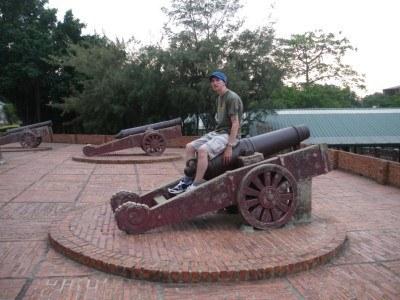 Touring Fort Zeelandia, Taiwan