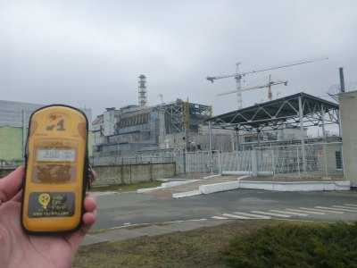 Geiger Counter near Reactor Number 4